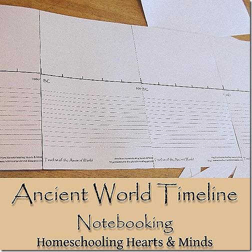 free printable timeline