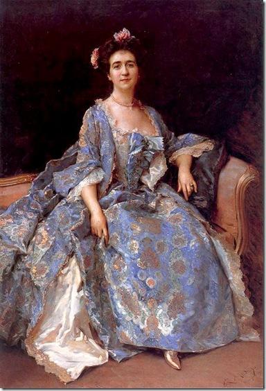 Raimundo de Madrazo y Garreta - Retrato de dama