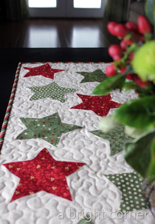 christmas table runner 2