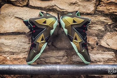 nike lebron 11 gr king of the jungle 3 05 kings pride Release Reminder: LEBRON 11 Kings Pride / King of the Jungle