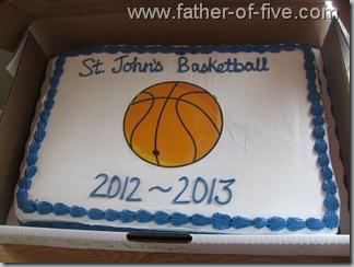 Basektball Banquent Cake #2