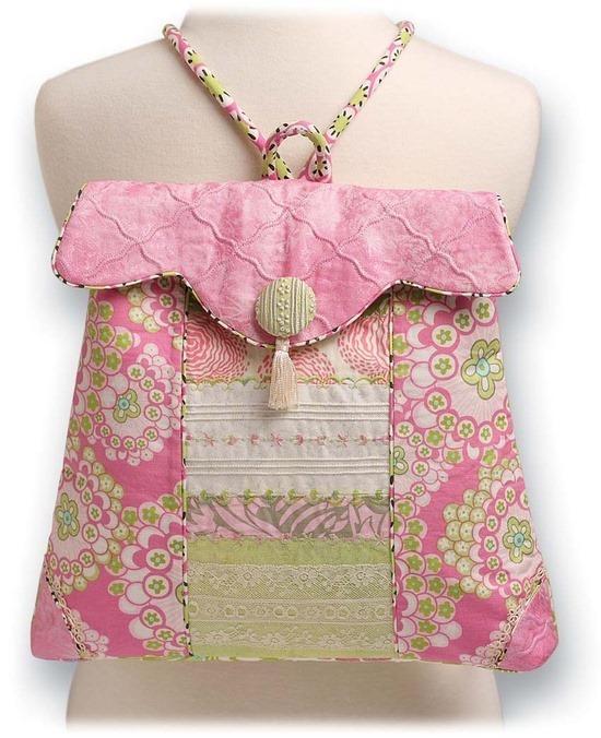 Posh-Pink-Backpack