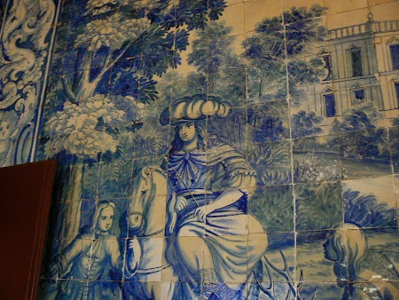 06. Faianta din palatul din Sintra, Portugalia.JPG