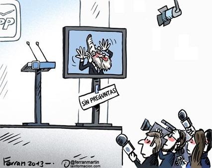 Rajoy en el plasma
