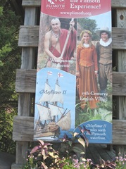 Plimoth Plantation sign