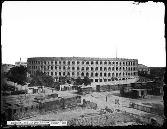 plaza de toros 1870