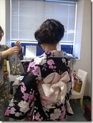 帯遊び 浴衣ファッションショーのお手伝い (4)