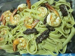 shrimp pasta with sundried tomatoes