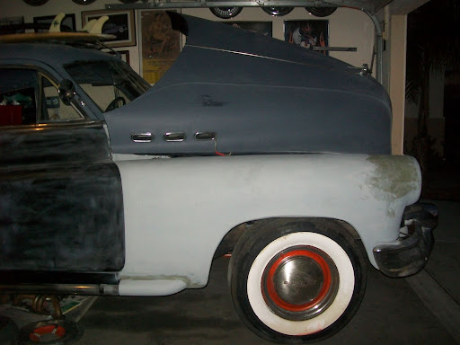 1950 Buick 2 door post