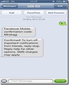 facebook sms hacking