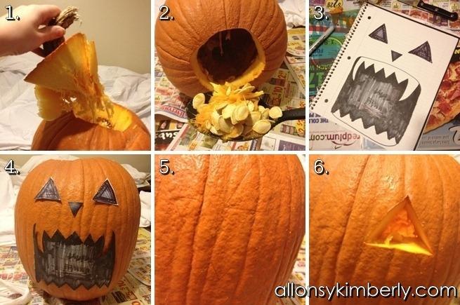 Leafy Lion Pumpkin // allonsykimberly.com