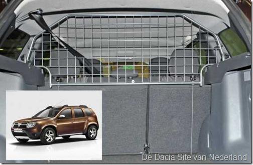 Honden-bagagerek Dacia Duster 01