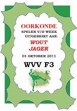 SEIZOEN 2011-2012 - WVV F3 - 01 SEP - WVV F3 - OORKONDE