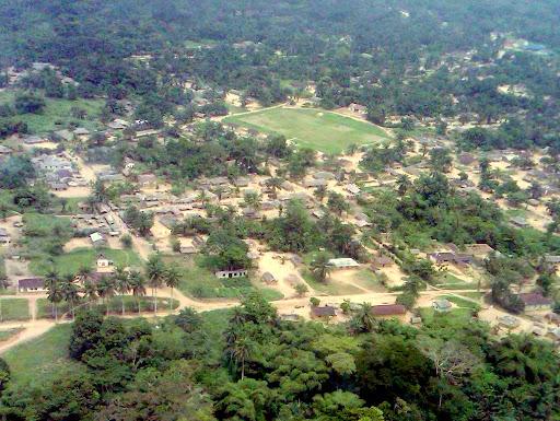 Le territoire de Monkoto dans la province d'Equateur, le 22 janvier 2011.