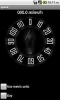 Screenshot of Oldschool Speedometer