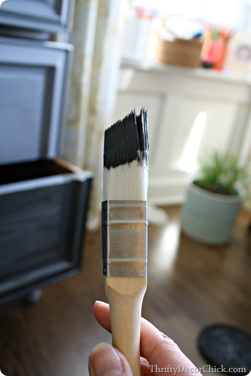 square paint brush
