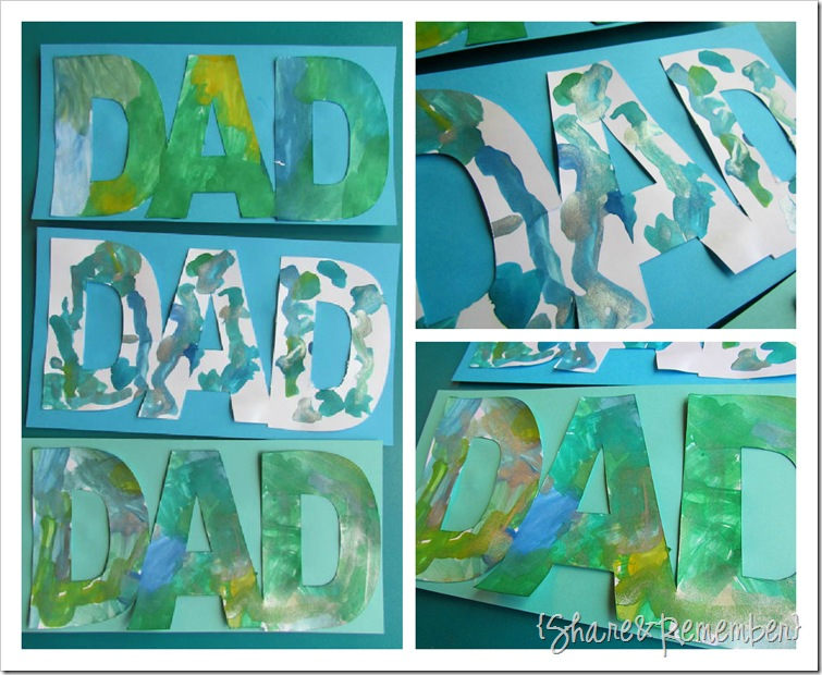 Father&#39;s Day Cards Preschool 