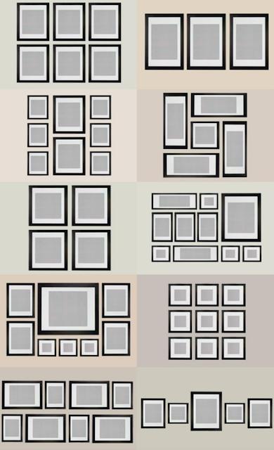 Rh interiorismo diferentes opciones para colocar cuadros - Como colocar cuadros ...