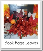 book page leaves
