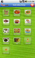 Screenshot of South Indian Recipe