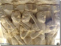 Capitel de la matanza de los inocentes - Claustro de San Pedro del Viejo - Huesca