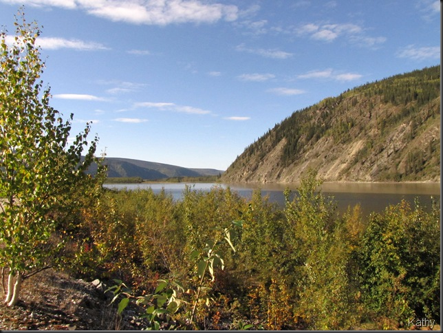 Yukon River at Dawson City