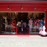 the famous Takenoko fashion store on Takeshita dori street in Harajuku, Japan in Harajuku, Tokyo, Japan
