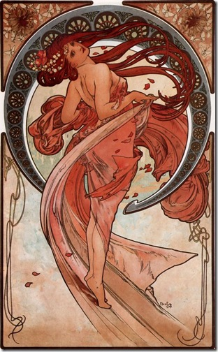 Dance (1898) by Mucha