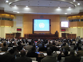 WITFOR 2007 at the UN Convention Center in Addis Ababa.