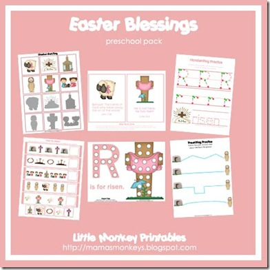 easter blessings ad