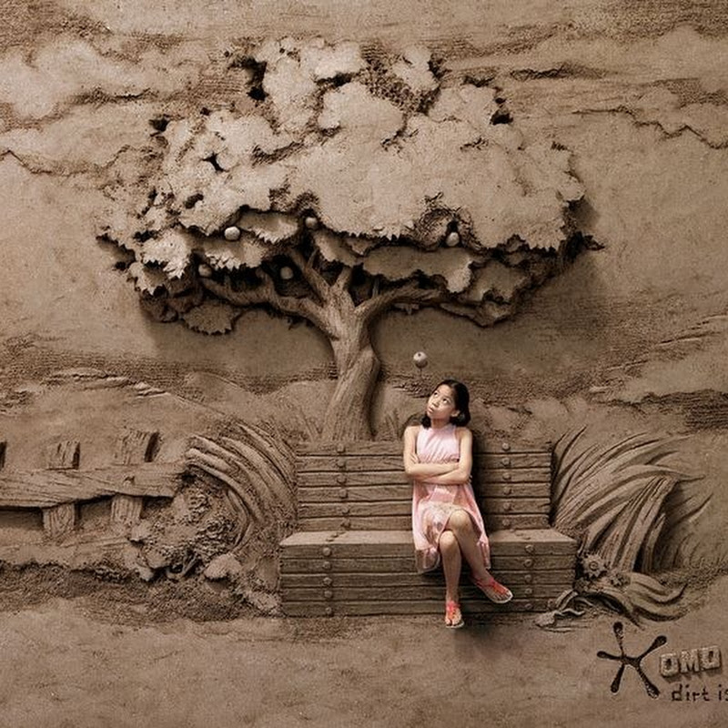Dirt is Good: Joo Heng Tan's Sand Sculpture Backdrops