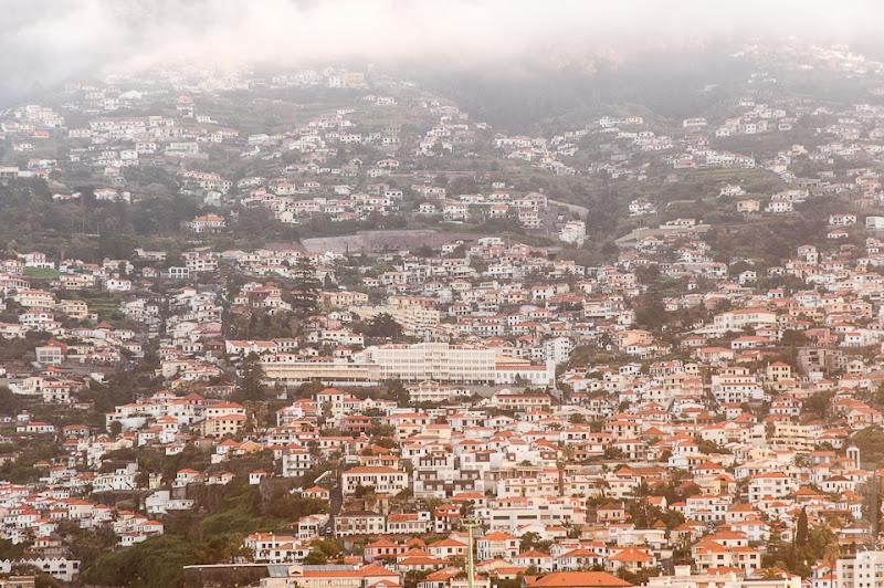 20. Февраль. Мадейра. Канатная дорога. Фуншал. Город лежит в лощинах и оврагах.