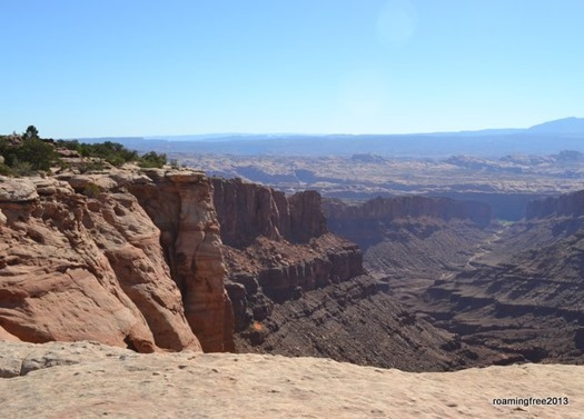 View from the top of Long Canyon