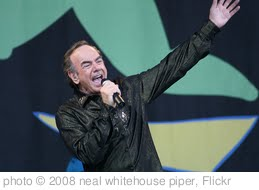 'Neil Diamond - Glastonbury 2008' photo (c) 2008, neal whitehouse piper - license: http://creativecommons.org/licenses/by-sa/2.0/