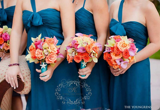 Teal-wedding karen tran