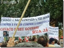 Manif Alcântara. Palhaço1.Out.2013