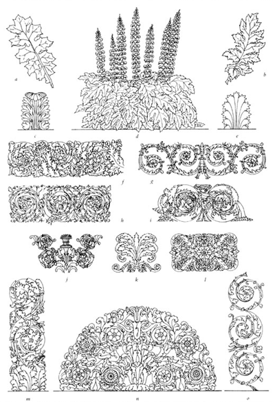 Acanthus motifs