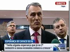 Cavaco Silva em 27 de Abril de 2012. Mai2012