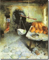 Helene-Schjerfbeck-the-bakery-1887-oil-on-canvas-61-x-51cm