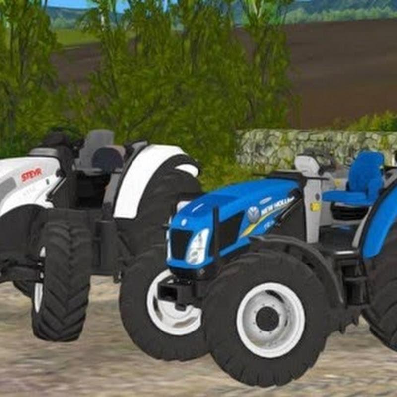 Farming simulator 2015 - Steyr Multi 4115 Roofless v 2.0
