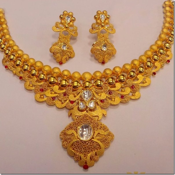 and gold pin set necklace designer detail grams designers