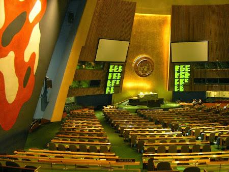 Sala Marii Adunari ONU - New York