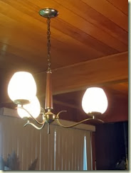 MCM dining room light