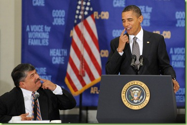 Richard Trumka Obama Delivers Remarks Economy KI4uRHG4isJl