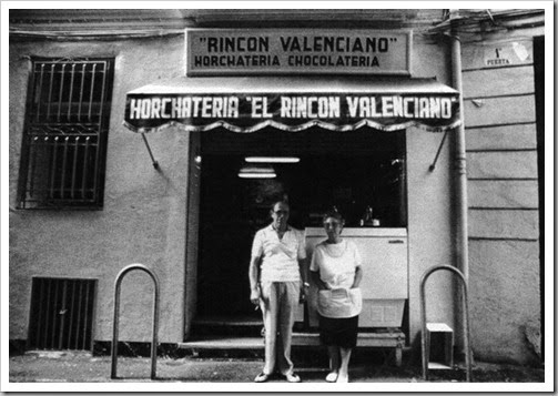 Horchateriìa El Rincoìn Valenciano. 1985