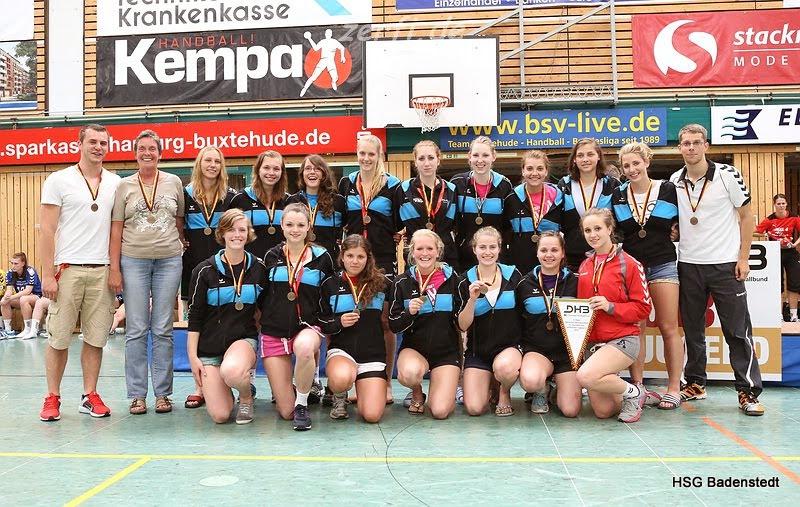 DM-Bronze: Weibliche A-Jugend der HSG Badenstedt