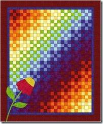rainbowninepatch2wflower