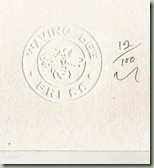 stamp and number
