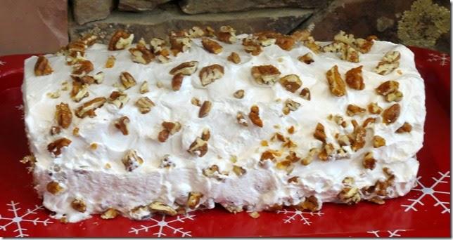 TWD--Gingerbread Buche de Noel