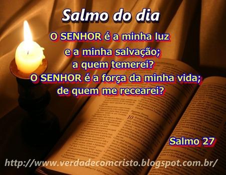 SALMO DO DIA 27